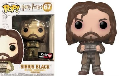>67 Sirius Black Prisoner of Azkaban Funko Pop