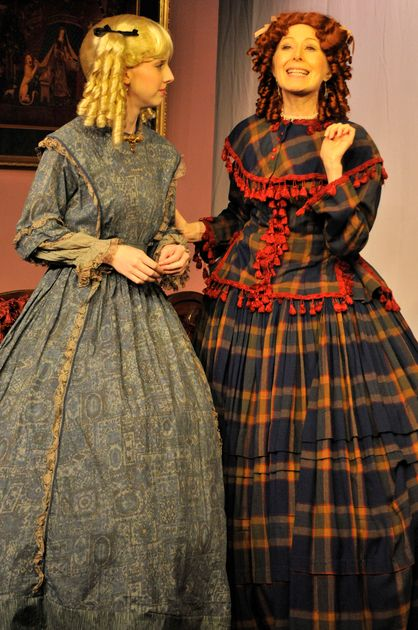 Comedy draws drama, laughs from scene of Lincoln's assassination -- Read our review of the Lexington Studio Players production of Charles Busch's 'Our Leading Lady'. It plays through Feb. 5.: Drama Laughs, Draws Drama, Lexington Studio,  Crinoline, Comedy Draws, Studio Players