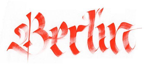 Random Calligraphy by Giuseppe Salerno, via  Behance