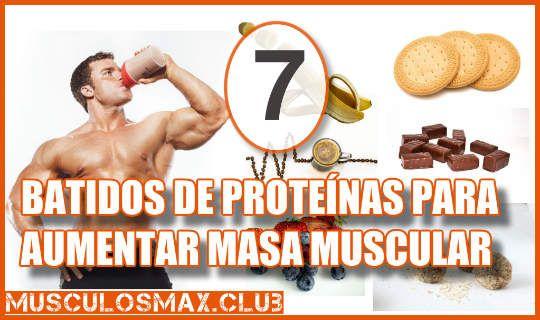 7 Ricos Batidos De Proteínas Para Aumentar Masa Muscular Pruébalos Aumentar Masa Muscular Masa Muscular Batidos Para Masa Muscular