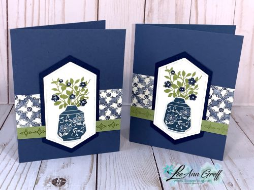 Third Card From The Boho Indigo Product Medley Flower Cards Floral Cards Cards Handmade