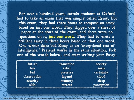 U of chicago essay prompts for elementary