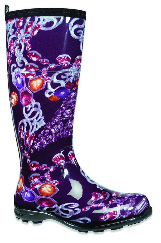 Kamik Women's 13 Inch Atrium Collection Jubilee W Boot Style: EK2077 Comes in Black, White, and Purple!  Low Price Guarantee at onlinebootstore.com
