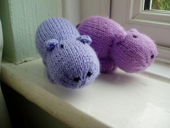 Beginner Knitting Patterns Stuffed Animals : Knitting, Lazy people and Stuffed animals on Pinterest