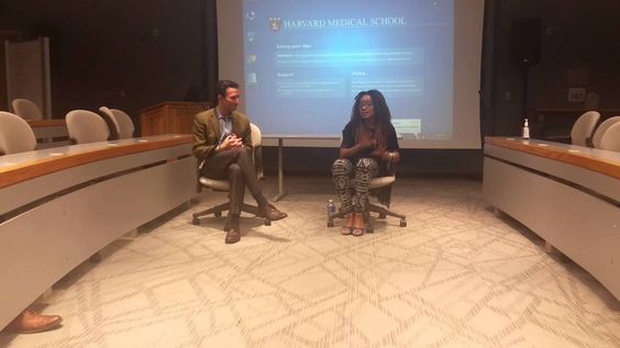 GOSH!ABOUT: Najaam Lee Speaking At Harvard Medical Part 2