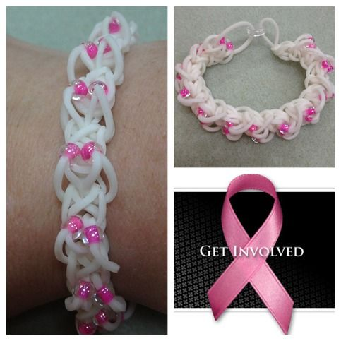Thanks for pink breast cancer band bracelets