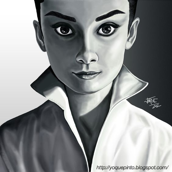 Audrey Hepburn #illustration