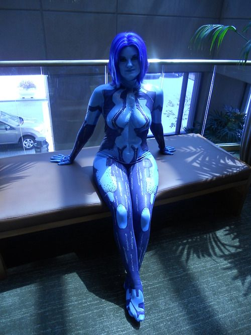 Hot cortana cosplay consider, that