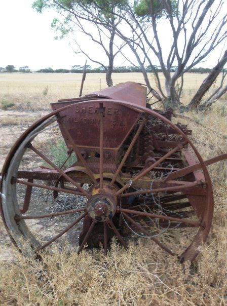 Old farm equipment, Australia © Kat Griff: