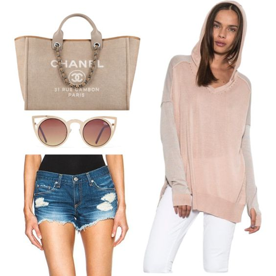 Summer Style by excessbag on Polyvore featuring One Grey Day and Chanel
