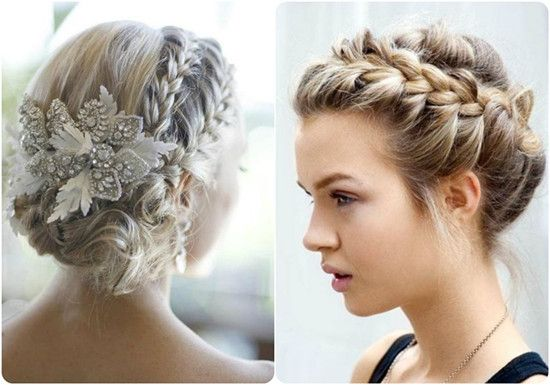 2014 hair braiding styles 2014 winter 2015 hairstyles and hair color trends updo 9187 | ace2e12e5e925ae798ee6ae2352ad1f5