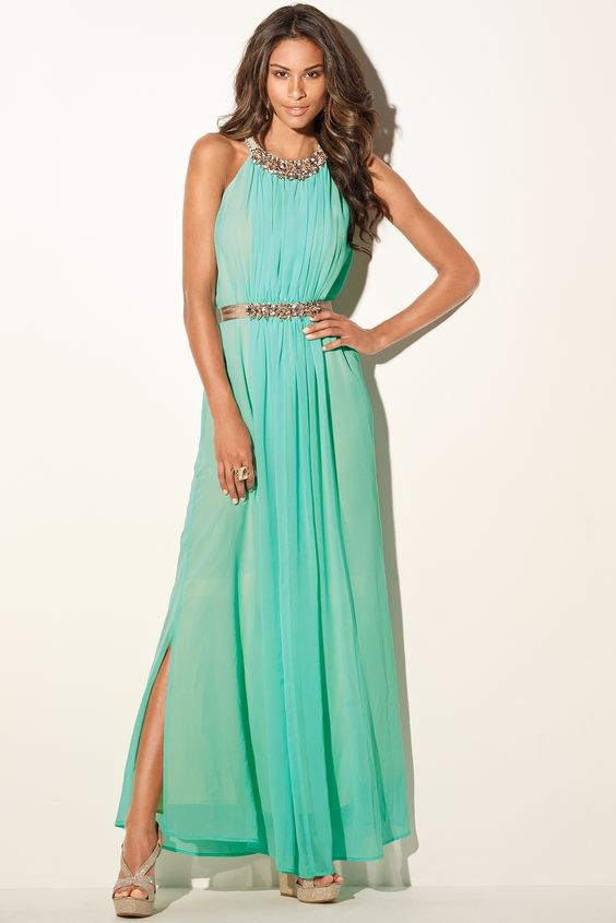 Boston Proper Beaded goddess maxi dress -bostonproper - Dresses I ...