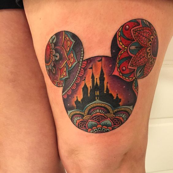 @thediabolicaldoctorseven at Ink couture, NYC. I'd probably do the ears the same.