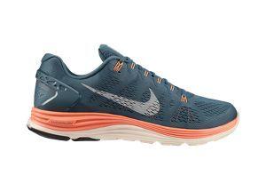 The Nike LunarGlide+ 5 Men's Running Shoe.