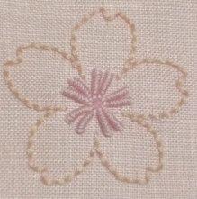 桜の刺繍のコンパクトケース |【かんたん刺繍教室】たった6つのステッチだけでらくらく刺繍上達ブログ