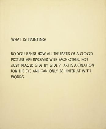 John Baldessari Quote - Art, Painting