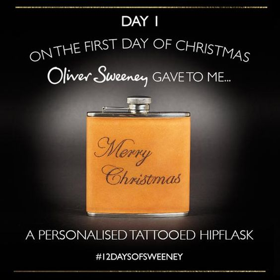 It's Day 1 of our #12DaysofChristmas! Follow @oliversweeney + retweet to win - http://t.co/wkqCSwl9EA http://t.co/kO8YAzGIWV