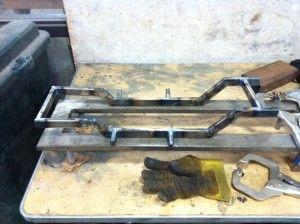 custom car frames how to build a custom car frame