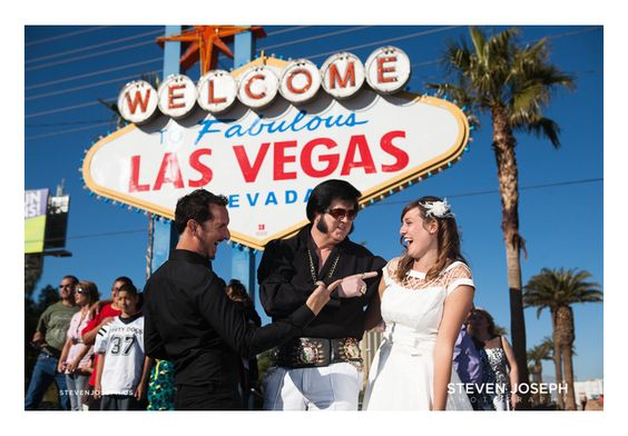 Urban Wedding Ideas Unique Elopement Old School Vegas Pictures Day Las Elvis Getting Married By Pinterest