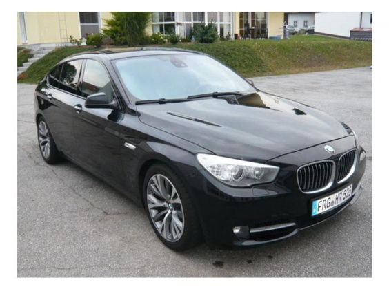 BMW 535D GT Fond Entert.
