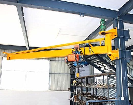 Wall Mounted Jib Crane Quality Jib Cranes From Ellsen Aimix Group In 2020 Welding Table Wall Mount Cranes For Sale