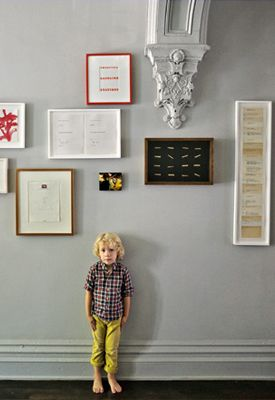 New York Brownstone Hallway, Featured on sharedesign.com.