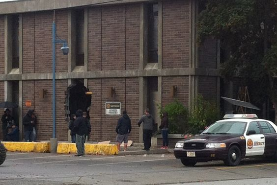 a breakout from the jail? from the shoot Sept 23