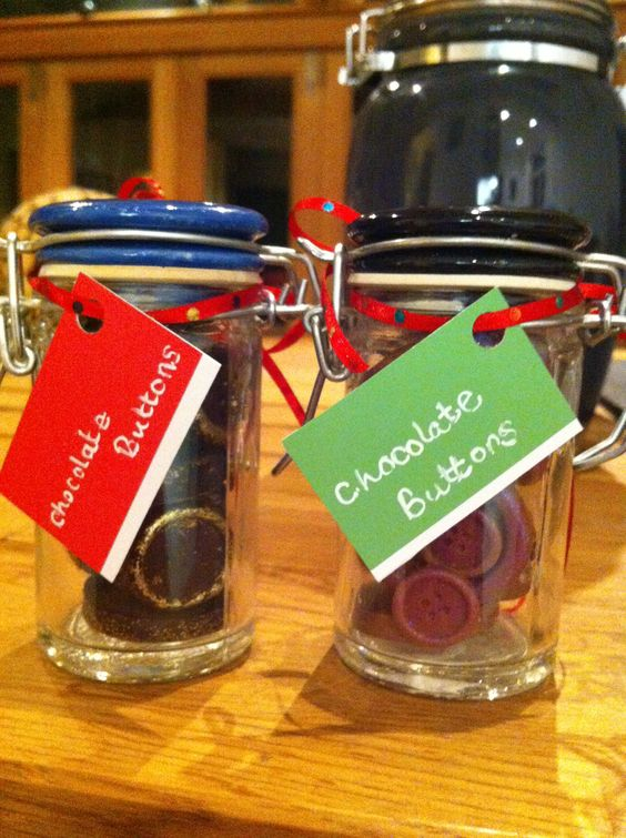 Chocolate buttons # festive gifts