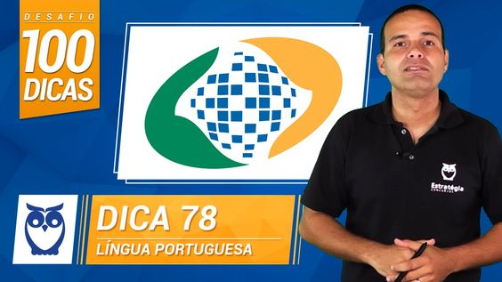Dica 78 do Desafio 100 Dicas para INSS. Dica de Língua Portuguesa por Prof. Fabiano Sales