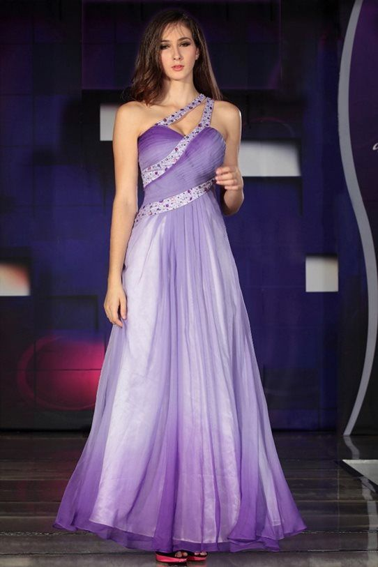 Purple- lilac- cocktail dress- ball- dress- bridesmaid dress buy ...