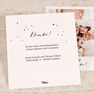 Polaroid Dankeskarte Hochzeit Dankeskarte Hochzeit