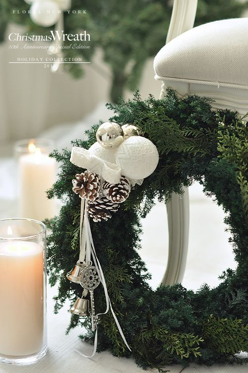 christmas decorationsidスタイルのある暮らし It's FLORAL NEW YORK Style ~暮らしをセンスアップするフラワースタイリングで毎日を心豊かに、心地よく~