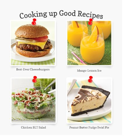 Find great recipes from Kraft. #cookingupgood