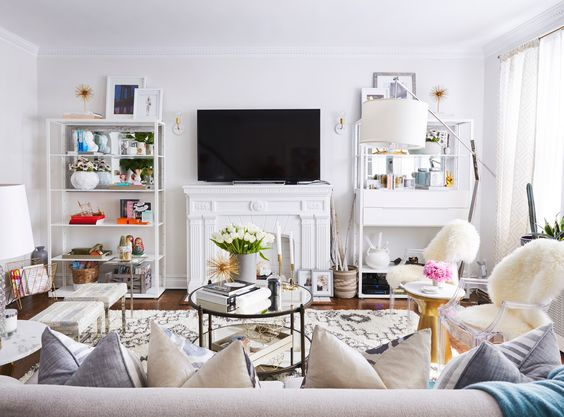 Peek Inside Brooklyn Blonde Blogger Helena Glazers Gorgeous NYC Townhouse