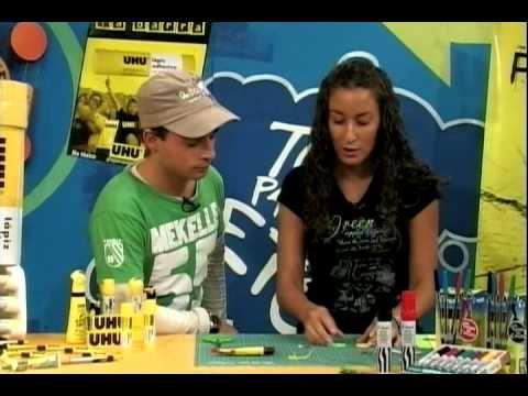Como hacer un llavero de goma eva