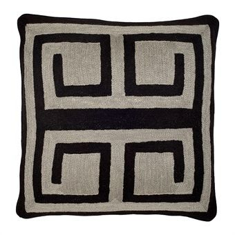 Suz loft Eicholtz  Pillow Bliss Black Grey