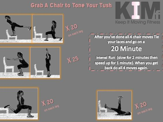 A chair to tone your Tush