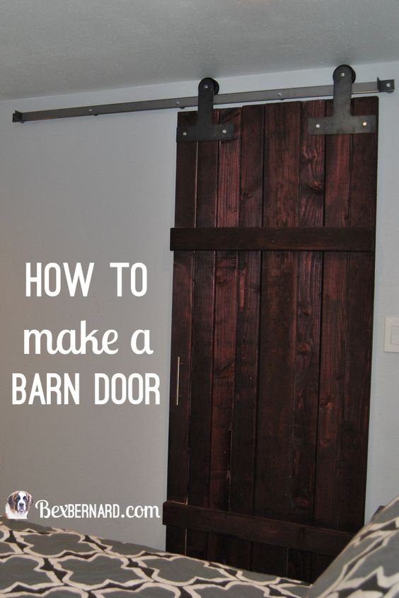 diy sliding sliding barn and more home doors barn doors how to make ...