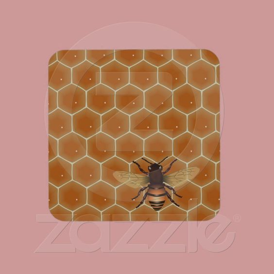 Honey Bees  4.5 (13 reviews)  In stock!  Quantity:  set of 6 coasters.  Add to wishlist  $26.95  per set of six
