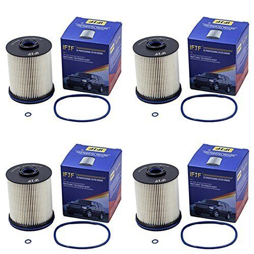 Ifjf Tp1015 Fuel Filter 5 Micron Filters With Seals For 2017 Chevy