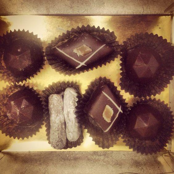 Yummy! Hand made truffles by my wonderful girlfriend!