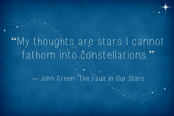 Steph's Stacks: Quote of the Week: The Fault in Our Stars ...