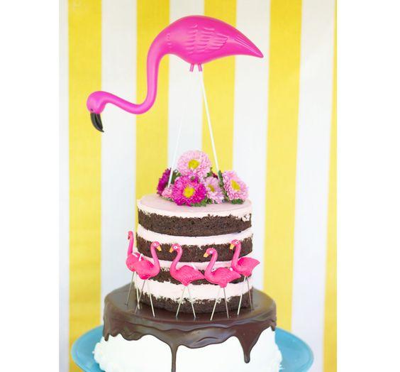 Inspiração: Festa com tema Flamingos - Ideias em Casa: