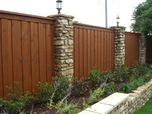 Dallas Cedar Wood Fence And Gate Design Builder