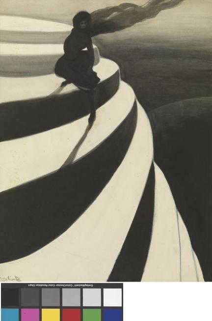De Duizeling heeft een bijzondere artistieke waarde. Spilliaert schildert een eenzame en radeloze persoon die is overgeleverd aan een harde wind in een onstabiele omgeving. Hij zet het gevoel van duizeling kracht bij door het gebruik van harde kleurcontrasten, de spiraalsgewijze opbouw van de trappen en de aanzuigende kracht van de zwarte afgrond.