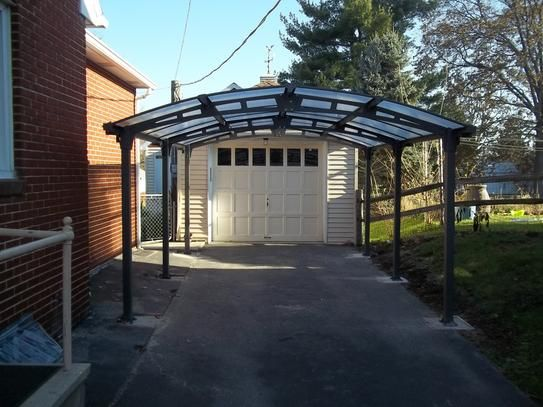 Arcadia Carport Review Home Depot The Product Itself Rates 5 Stars Pieces Fit Together Nicely And The Finish Is Very Nic Car Canopy Carport In Ground Spa
