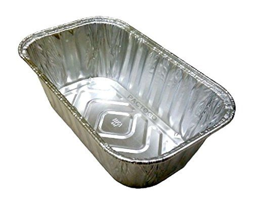 1 Lb Aluminum Mini Loaf Bread Pan 25 Pack Disposable Baking Tin