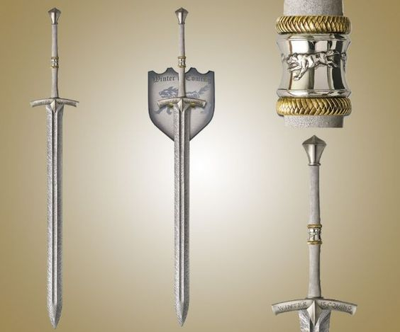 Ice, Sword of Eddard Stark   I need this. It is known.