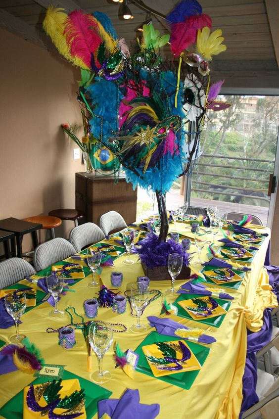 Mardi gras, Carnivals and Themes for parties on Pinterest