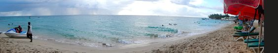 Panoramic View Mullins Beach, Saint Peter, Barbados